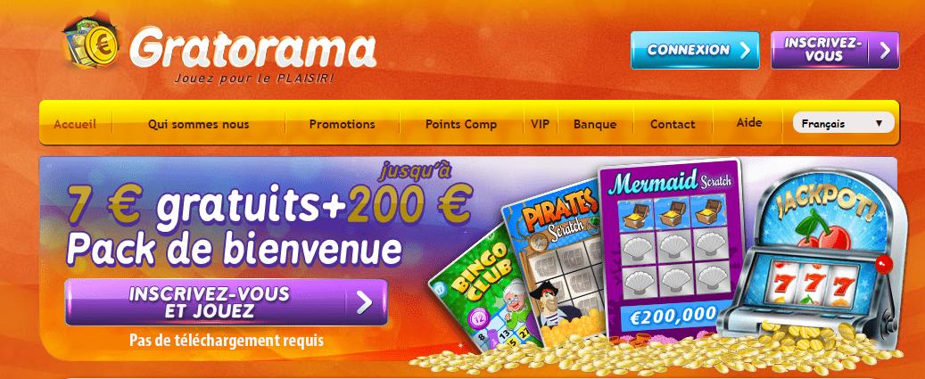 Gratorama avis  : un casino virtuel de renom ?