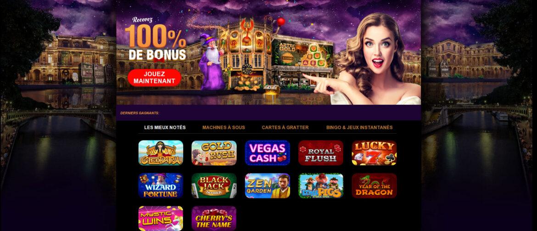 Gratowin casino : avis sur ses prestations